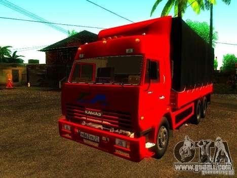 KAMAZ 53215 for GTA San Andreas
