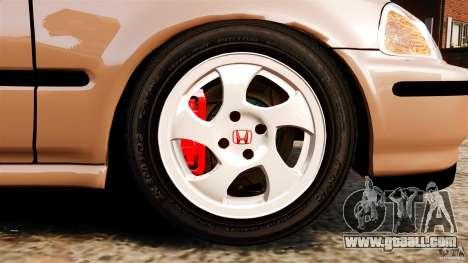Honda Civic VTI for GTA 4 side view