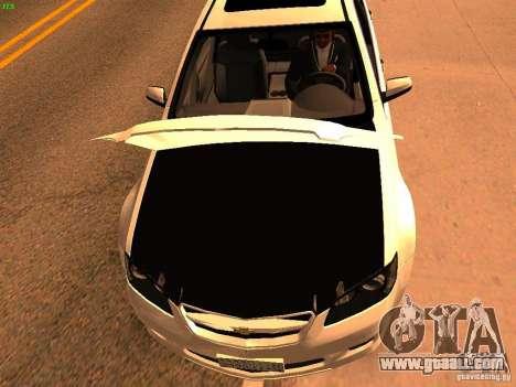 Chevrolet Lumina for GTA San Andreas right view