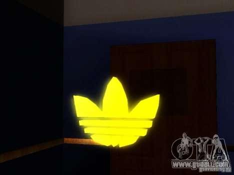 Adidas Logo for GTA San Andreas second screenshot