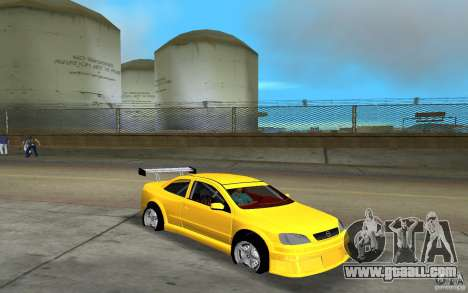Opel Astra Coupe for GTA Vice City left view