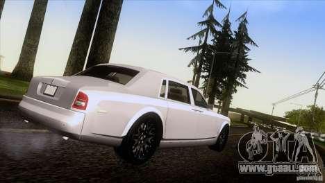 Rolls Royce Phantom Hamann for GTA San Andreas left view