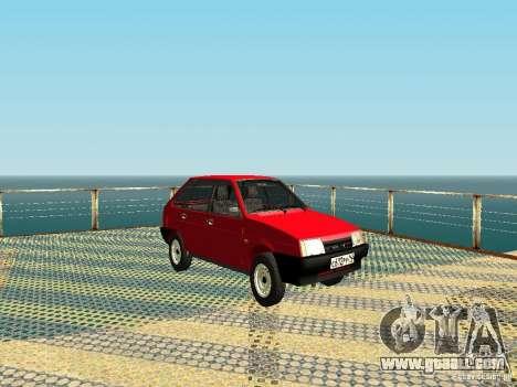 VAZ 2109 v2 for GTA San Andreas