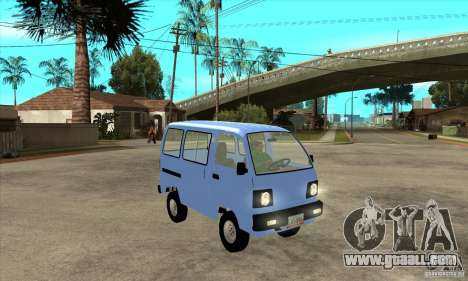 Suzuki Carry 1993 for GTA San Andreas back view