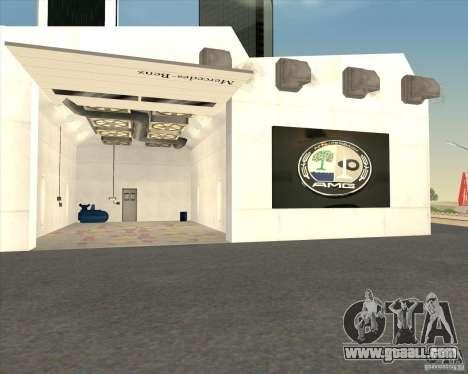 AMG showroom for GTA San Andreas fifth screenshot