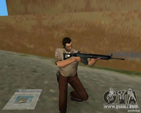 Pak weapons of S.T.A.L.K.E.R. for GTA Vice City