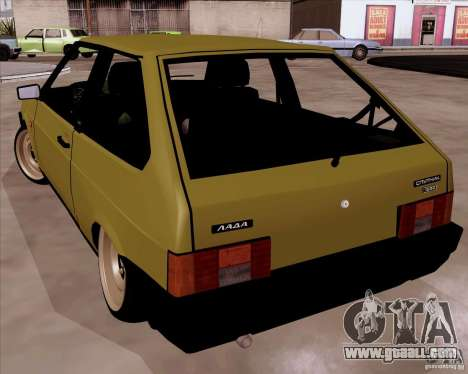 VAZ 2108 RF for GTA San Andreas back left view