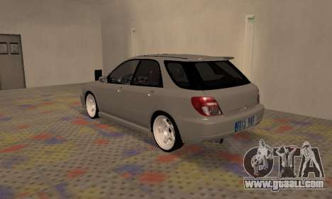 Subaru Impreza WRX Wagon for GTA San Andreas right view