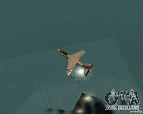 Cluster Bomber for GTA San Andreas fifth screenshot