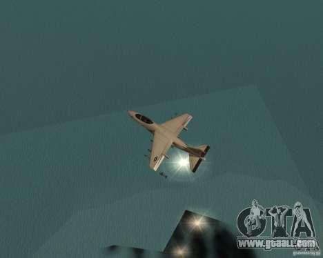 Cluster Bomber for GTA San Andreas fifth screenshot