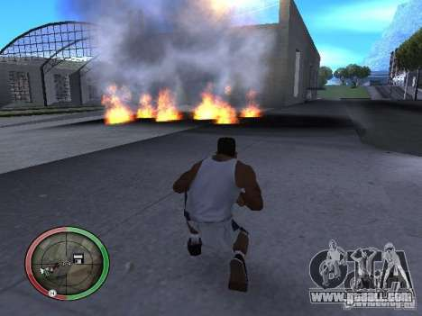 Dynamite MOD for GTA San Andreas seventh screenshot