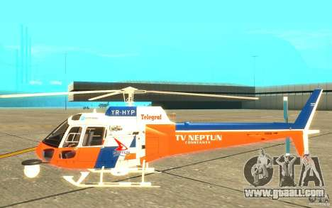 AS-350 TV for GTA San Andreas back left view