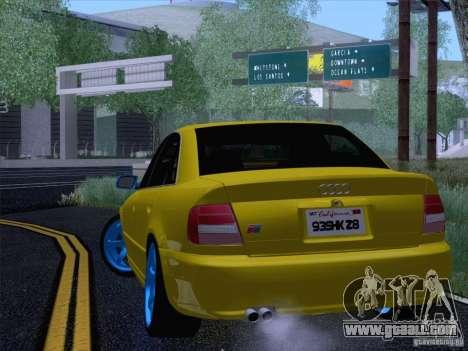 Audi S4 DatShark 2000 for GTA San Andreas right view