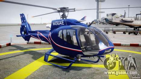 Eurocopter EC130B4 NYC HeliTours REAL for GTA 4 back view