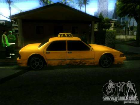 Sunrise Taxi for GTA San Andreas left view