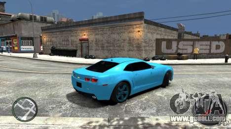 Chevrolet Camaro SS for GTA 4