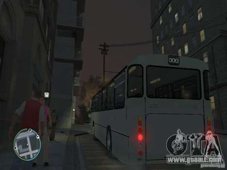 Mercedes-Benz O305 for GTA 4 back left view