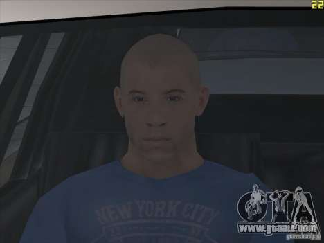Vin Diesel for GTA San Andreas third screenshot