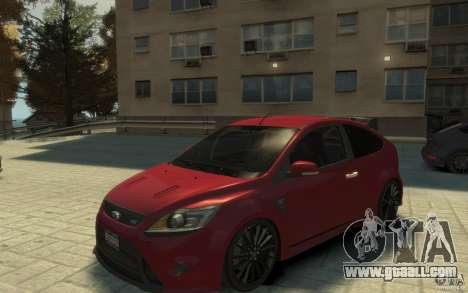 Ford Focus RS 2009 for GTA 4