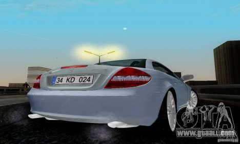 Mercedes-Benz SLK 55 AMG for GTA San Andreas back left view