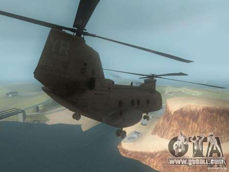 CH46 for GTA San Andreas right view
