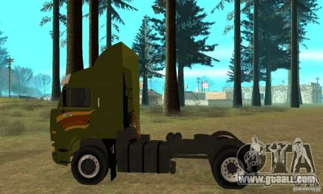 KAMAZ 5460 Skin 3 for GTA San Andreas back left view