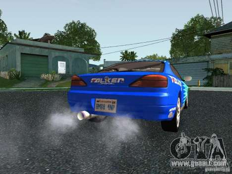 Nissan Silvia S15 Tunable for GTA San Andreas back view