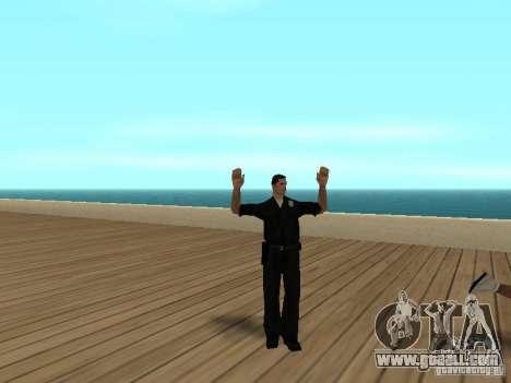 Cowardly cops for GTA San Andreas third screenshot