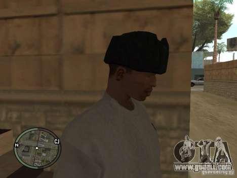 Ushanka for GTA San Andreas