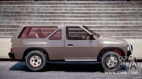 Nissan Terrano for GTA 4 inner view