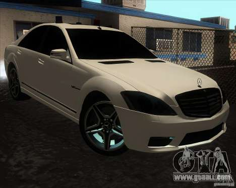 Mercedes-Benz S65 AMG W221 for GTA San Andreas