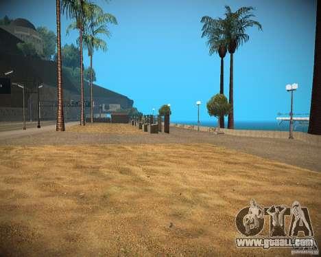 New textures beach of Santa Maria for GTA San Andreas second screenshot