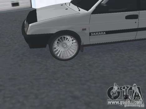 VAZ 2109 tunable for GTA San Andreas right view