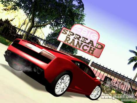Lamborghini Gallardo LP560-4 for GTA San Andreas right view