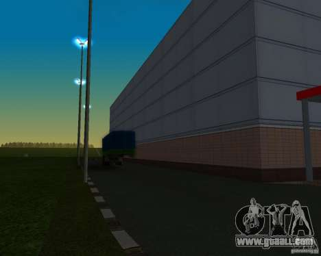 Cars in the parking lot at Anašana for GTA San Andreas forth screenshot