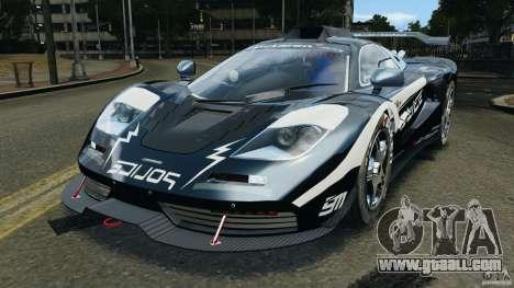 McLaren F1 ELITE Police [ELS] for GTA 4