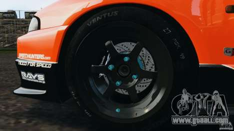 Nissan Skyline GT-R (R33) v1.0 for GTA 4 engine