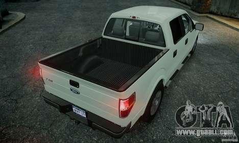 Ford F150 XLT v1.3 for GTA 4 back left view
