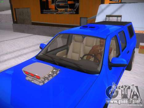 Chevrolet Silverado for GTA San Andreas back view