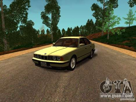 BMW 535 for GTA San Andreas left view