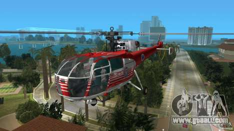 IAR 316B Alouette III SMURD for GTA Vice City