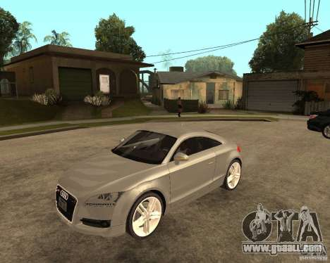 Audi TTS Coupe V1.1 for GTA San Andreas