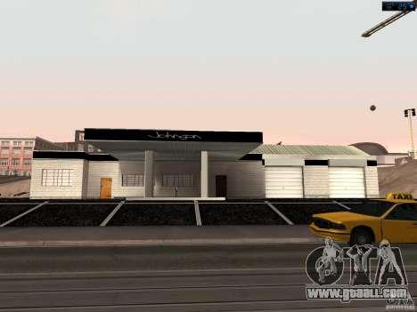 New garage in San Fierro for GTA San Andreas