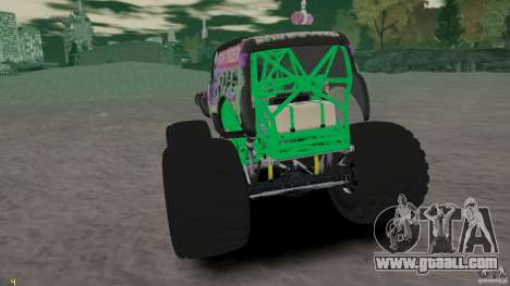 Grave digger for GTA 4 right view