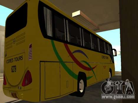 Yanson Viking - CERES TOURS 6279 for GTA San Andreas back left view