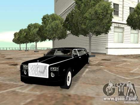 Rolls-Royce Phantom Limousine chauffeur 2003 for GTA San Andreas