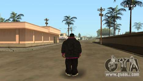 Skin Pack Ballas for GTA San Andreas sixth screenshot