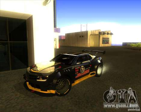 Chevrolet Camaro for GTA San Andreas side view