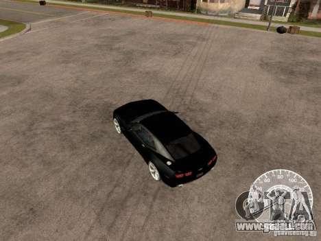 Chevrolet Camaro Concept for GTA San Andreas right view
