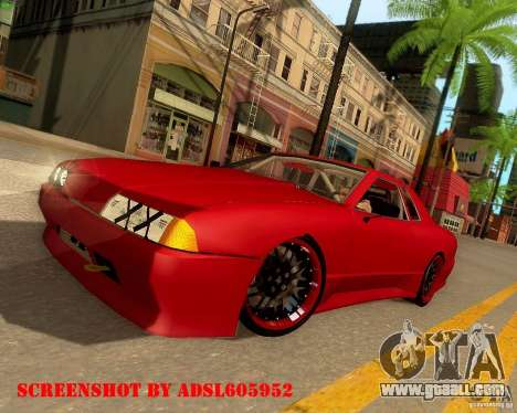 Elegy Drift Korch for GTA San Andreas